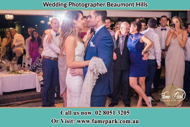 Photo of the Bride and the Groom Beaumont Hills NSW 2155