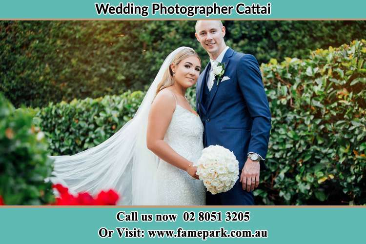 Photo of the Bride and the Groom Cattai NSW 2756