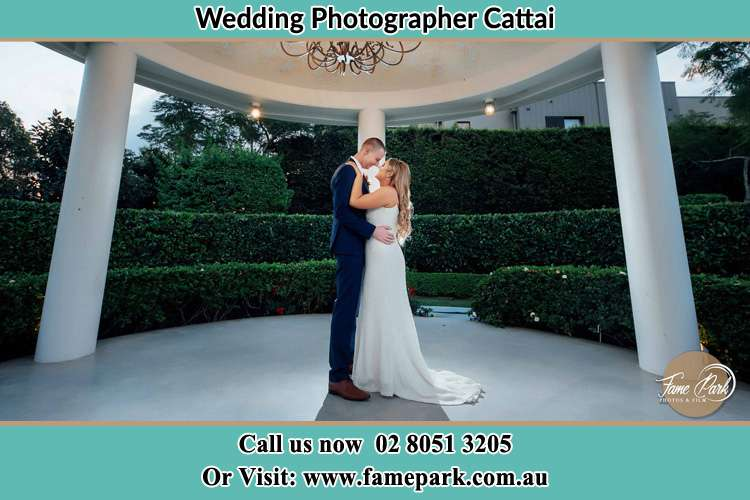 Photo of the Groom and the Bride dancing Cattai NSW 2756