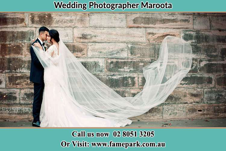Photo of the Groom and the Bride dancing Maroota NSW 2756