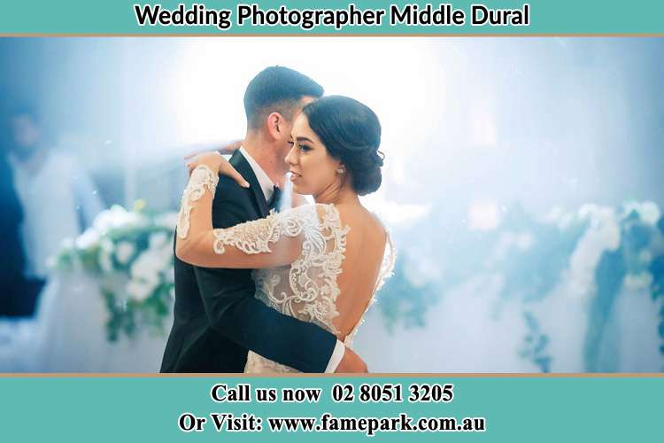 Photo of the Groom and the Bride dancing Middle Dural NSW 2158